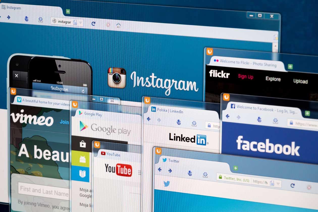 Le pagine social aziendali